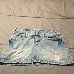 """Women""""s Jean Skirt"""